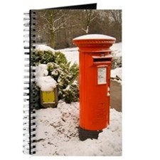 Journal/Diary/Notebook featuring red Post Box