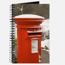 Journal/Diary/Notebook featuring red post box.