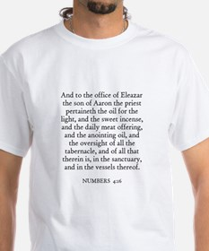 NUMBERS 4:16 Shirt