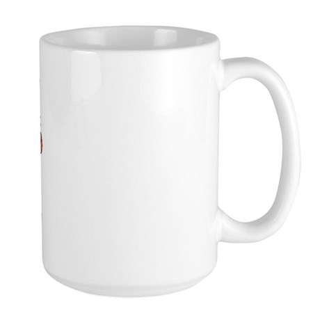 I Love Bacteria Large Mug