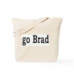 go Brad Tote Bag