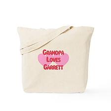 Grandpa Loves Garrett Tote Bag
