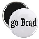 """go Brad 2.25"""" Magnet (10 pack)"""