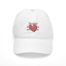 Jessica broke my heart and I hate her Baseball Cap