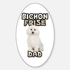 Bichon Frise Dad Decal
