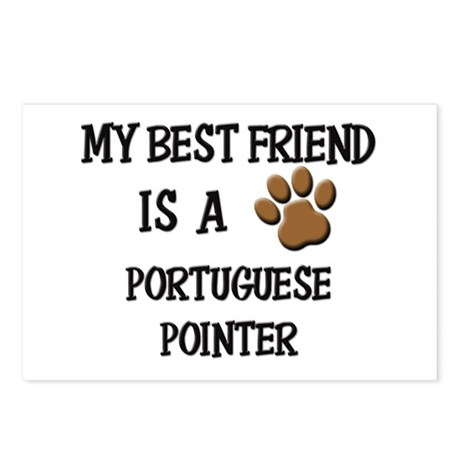 My best friend is a PORTUGUESE POINTER Postcards (