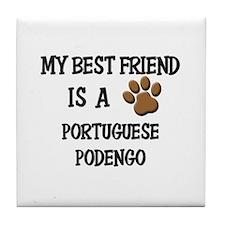 My best friend is a PORTUGUESE PODENGO Tile Coaste