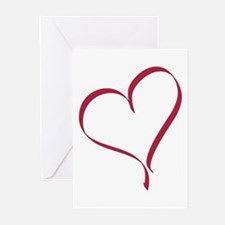 Solo Heart Greeting Cards (Pk of 10)