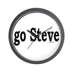 go Steve Wall Clock