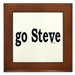 go Steve Framed Tile