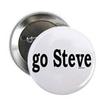 "go Steve 2.25"" Button (100 pack)"