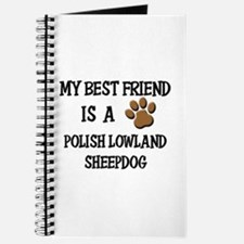 My best friend is a POLISH LOWLAND SHEEPDOG Journa