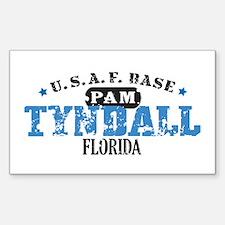 Tyndall Air Force Base Rectangle Sticker 10 pk)