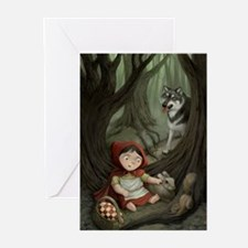 Little Red Riding Hood Greeting Cards (Package of