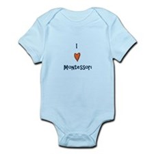 I Love Montessori Infant Bodysuit