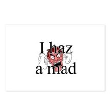 I Haz A Mad Postcards (Package of 8)