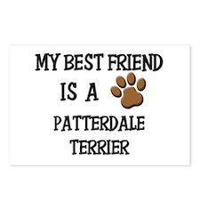 My best friend is a PATTERDALE TERRIER Postcards (