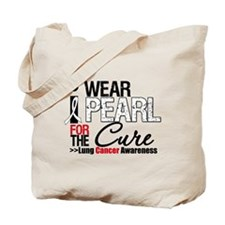 Lung Cancer Cure Tote Bag