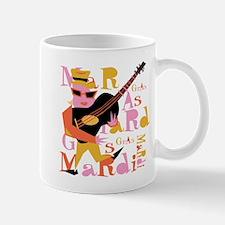 Mardi Gras Guitar Lady Mug