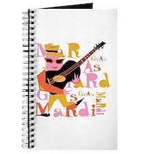 Mardi Gras Guitar Lady Journal
