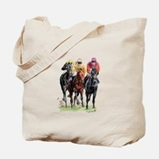 Unique Horse jockey Tote Bag
