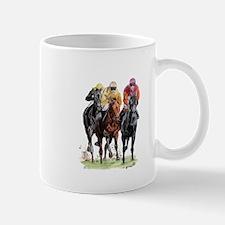 Funny Race horses Mug
