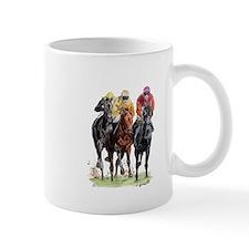 Cute Thoroughbred racing art Mug