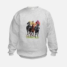 Cute Thoroughbred racing Sweatshirt