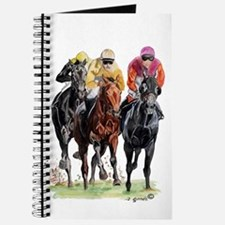 Unique Thoroughbred racing art Journal