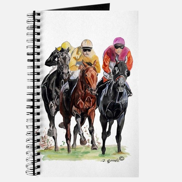 Cute Race horse Journal