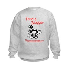 Feed a Blogger Sweatshirt