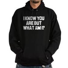 I Know You Are Hoodie