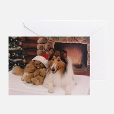 Collie Christmas Cards (Pk of 10)