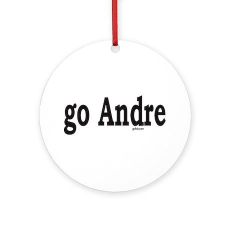 go Andre Ornament (Round)