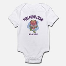 Tiki Pupu Luau Infant Bodysuit
