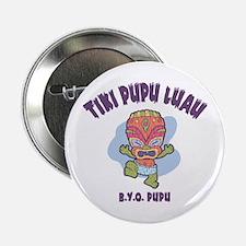 """Tiki Pupu Luau 2.25"""" Button"""