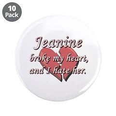 Jeanine broke my heart and I hate her 3.5