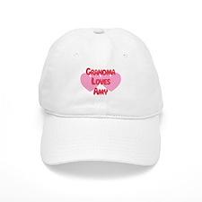 Grandma Loves Amy Baseball Cap