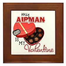 Valentine (Airman) Framed Tile