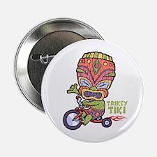 """Trikey Tiki 2.25"""" Button"""