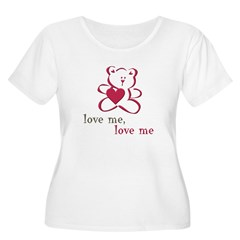 Love Me Teddy Bear T-Shirt