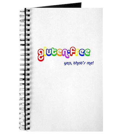 gluten-free, yep that's me! Journal