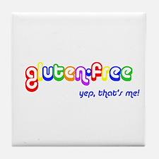 gluten-free, yep that's me! Tile Coaster