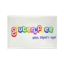 gluten-free, yep that's me! Rectangle Magnet