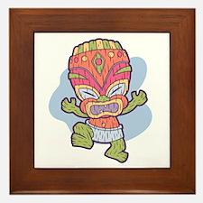 Tini Tiki Framed Tile