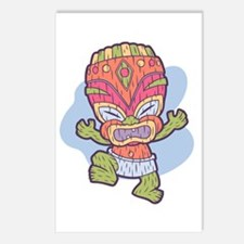 Tini Tiki Postcards (Package of 8)