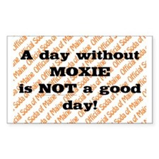 Official soda of Maine: Day without Moxie Decal