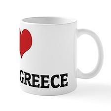 I Love Ancient Greece Mug
