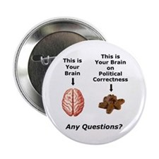 """Your Brain 2.25"""" Button (10 pack)"""