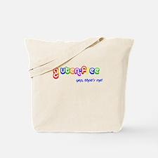 gluten-free, yep that's me! Tote Bag